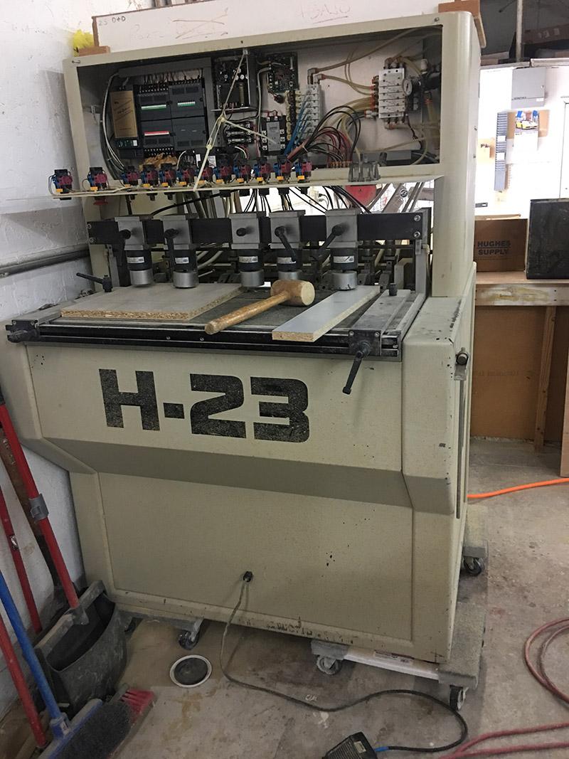 H-23 Wood Machine